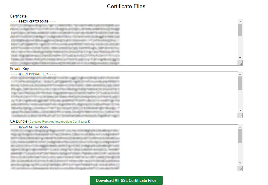 Certificate Files 1